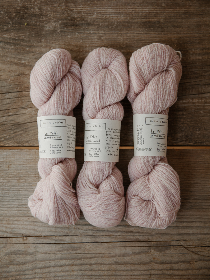Le Petit Lambswool Very Light Pink