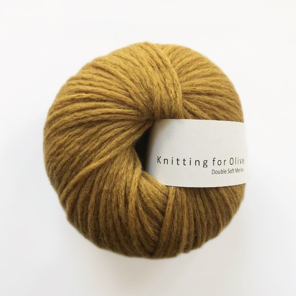 Double Soft Merino Dark Ocher
