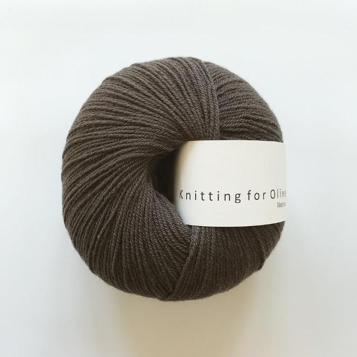 Merino Dark Moose