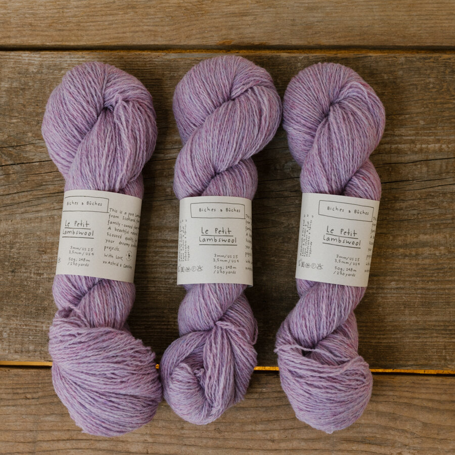 Le Petit Lambswool Light Pink Violet