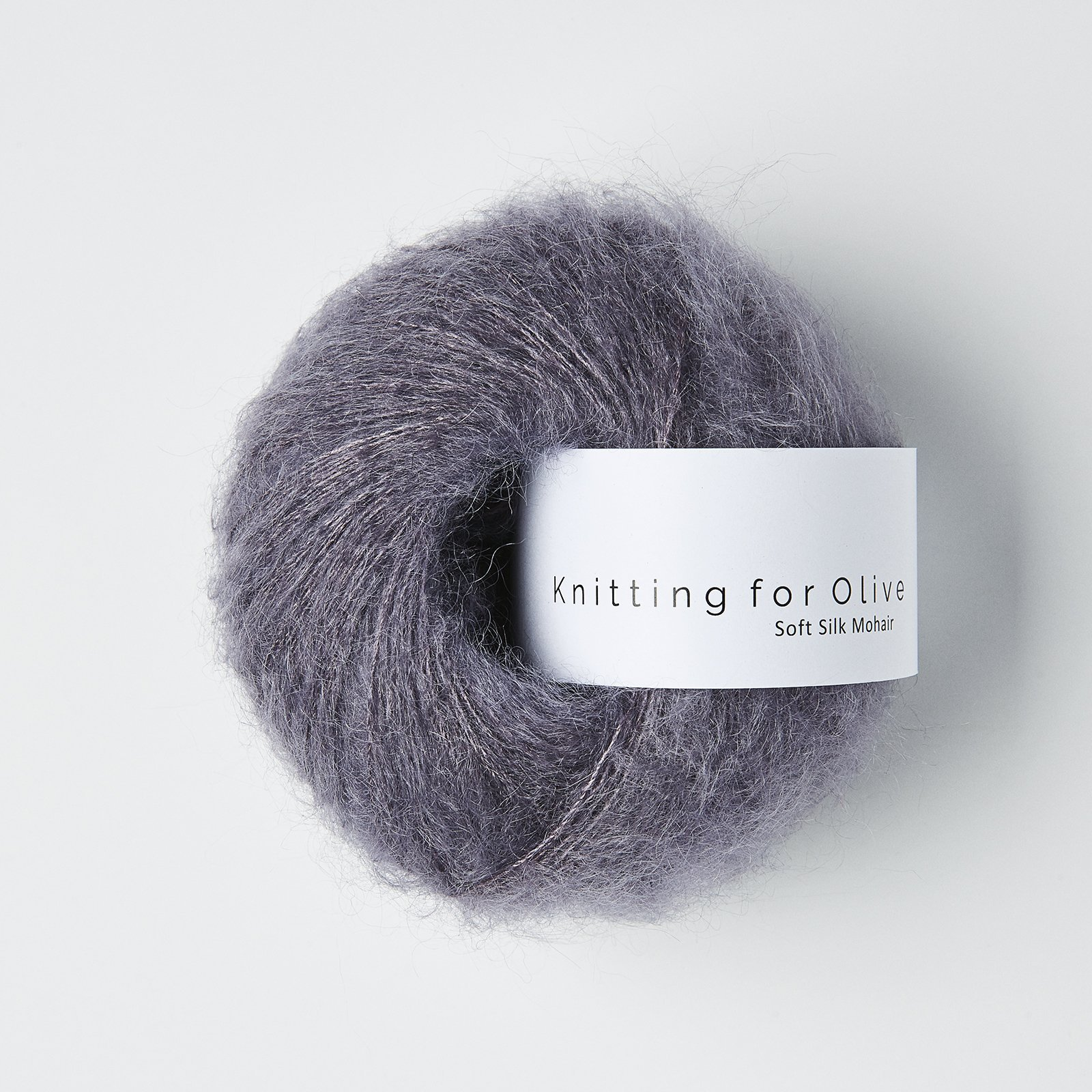 Soft Silk Mohair Dusty Violet