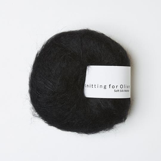 Soft Silk Mohair Licorice