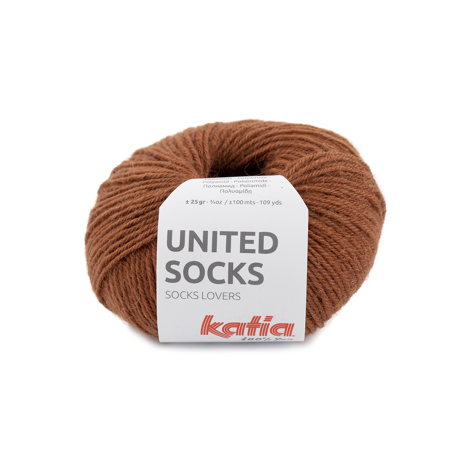 United Socks 02 Rust