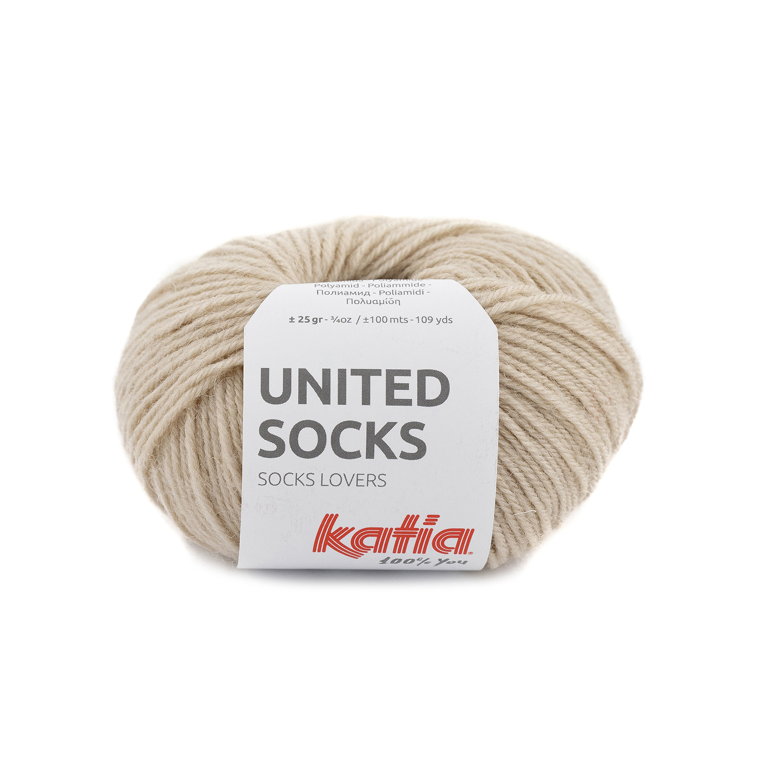 United Socks 04 Beige