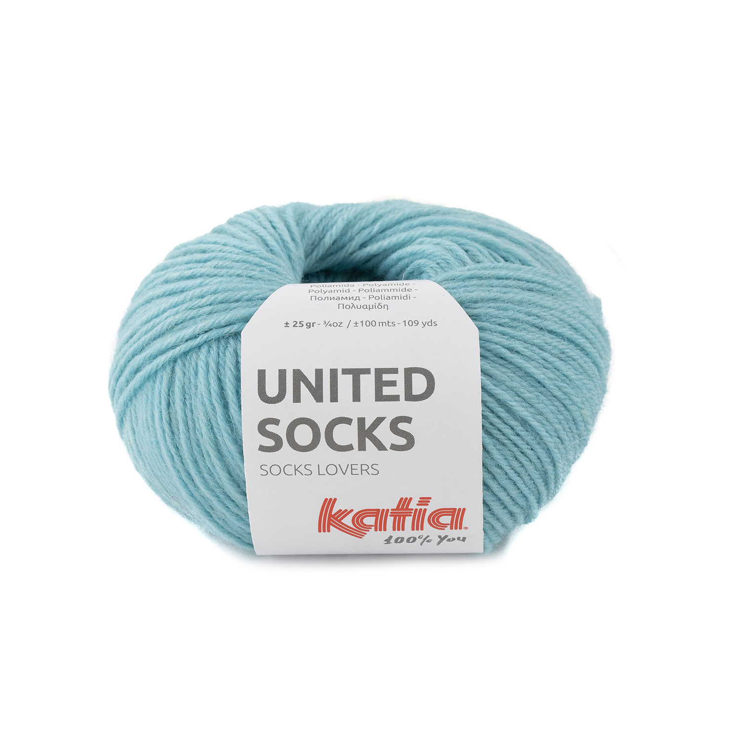 United Socks 24 Water blue