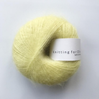 Soft Silk Mohair Marshmallow Yellow