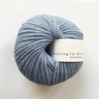 Double Soft Merino Dove Blue
