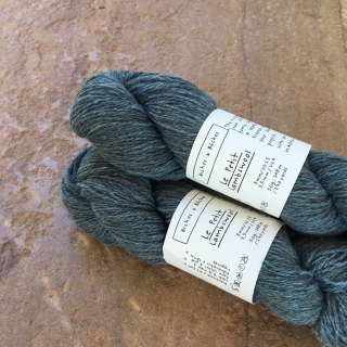 Le Petit Lambswool Blue Green