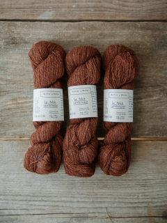 Le Petit Lambswool Red Brown