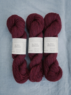 Le Petite Lambswool Norwegian Red