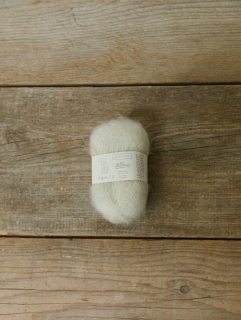Le Petit Silk & Mohair Off White