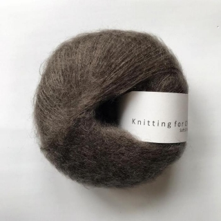 Soft Silk Mohair Dark Moose