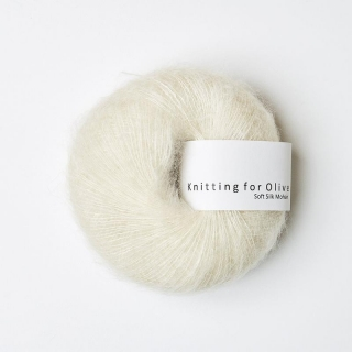Soft Silk Mohair Off-white
