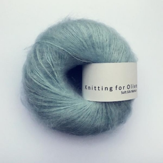 Soft Silk Mohair Sky Blue