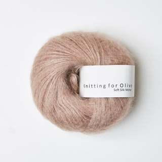 Soft Silk Mohair Rose Clay