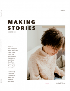 Making Stories Issue 2 Loving & Caring