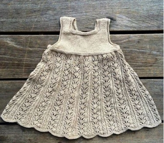 Návod na Summer Lace Dress (9m-6let)
