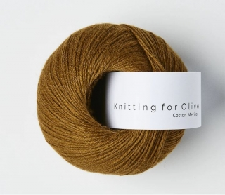 CottonMerino Orcher Brown